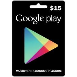 $15 Google Play