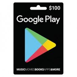 $100 Google Play Gift Card