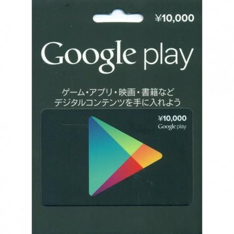 ¥10000 Google Play