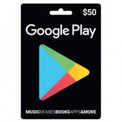 $50 Google Play Gift Card