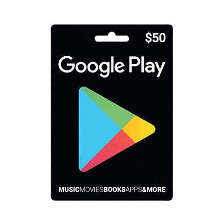$50 Google Play Gift Card