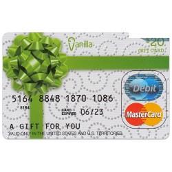 美國 $20 MasterCard Gift Card 禮物卡