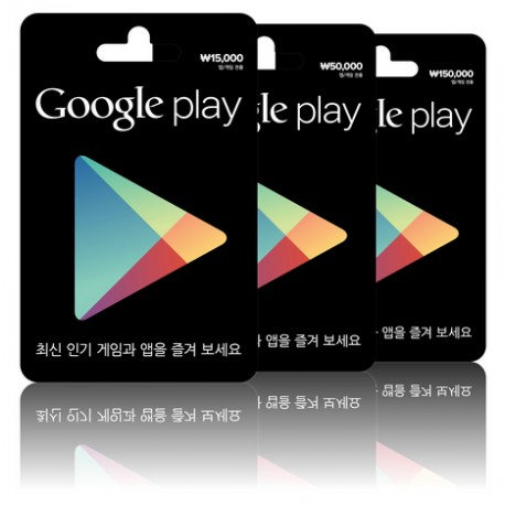 韓國 ₩10000 Google Play Gift Card 禮品卡
